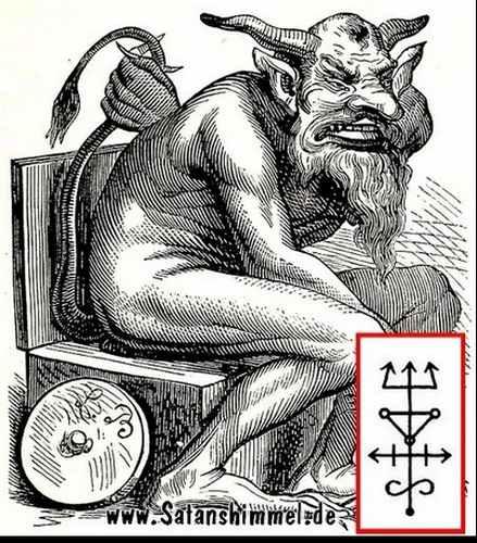 Die sieben Todsünden und der Dämon Belphegor
