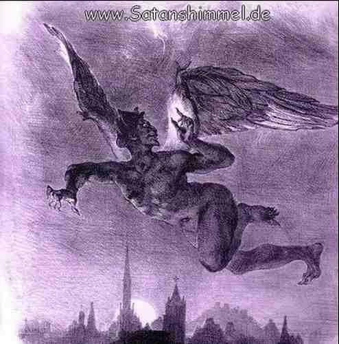 Mephistopheles aus Goethes Faust