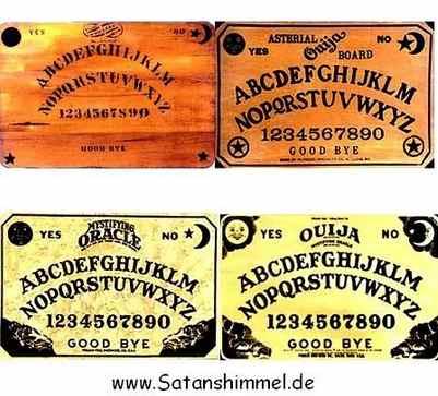 altes Ouija-Board
