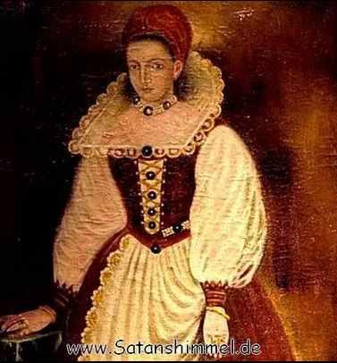 Die Blutgräfin Elizabeth Bathory.
