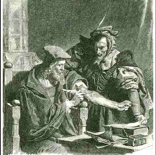 Dr. Faust Teufelspakt mit Mephistopheles