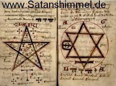 Geisterbeschwörung Buch aus dem 15. Jahrhundert