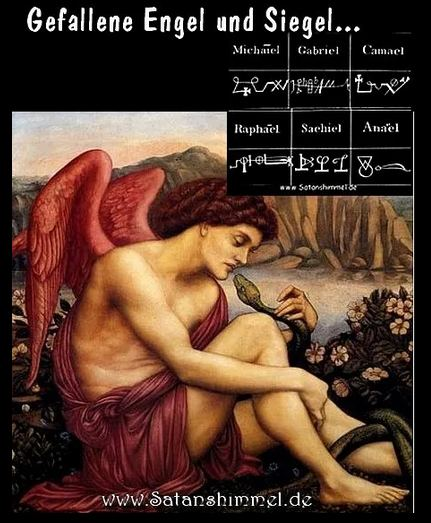 Jenseits gefallene Engel