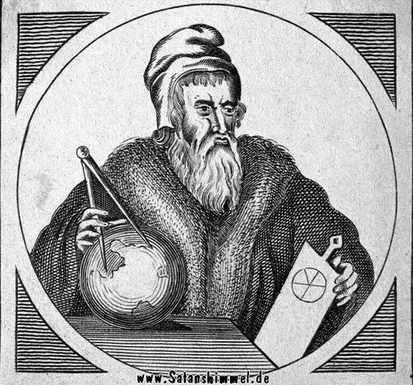 John Dee, den die Sprache henochisch erfand.