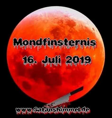 Die Mondfinsternis 2019 hatte mystische Bedeutung für viele Hexen