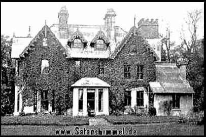 Das Haus Netherwood, The Ridge, in Hastings, England, in dem Okkultist und Schwarzmagier Aleister Crowley seine letzten Tage verbrachte.