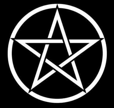 Das Pentagramm mit der Spitze nach oben ist ein allgemeines magisches Symbol.