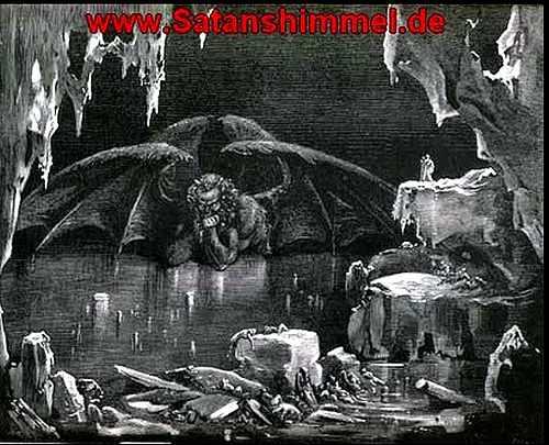 Satan iim neunten Höllenkreis.