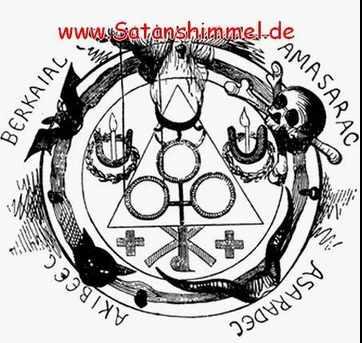 magischer Schutzkreis für schwarze Magie