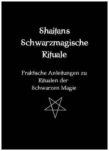 Buch Shaitans Schwarzmagische Rituale