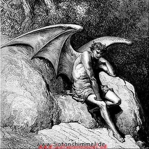 Teufel Namen Satan oder Luzifer John Milton. Abb.: Doré, 1866.