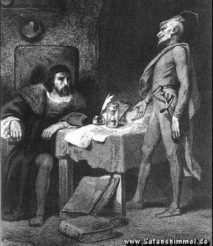 Teufelspakt Faust Mephisto