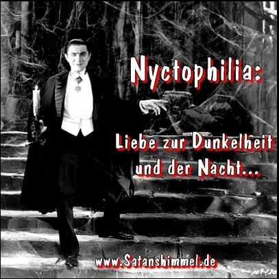 Vampirmythos: Nyctophilia Liebe zur Dunkelheit