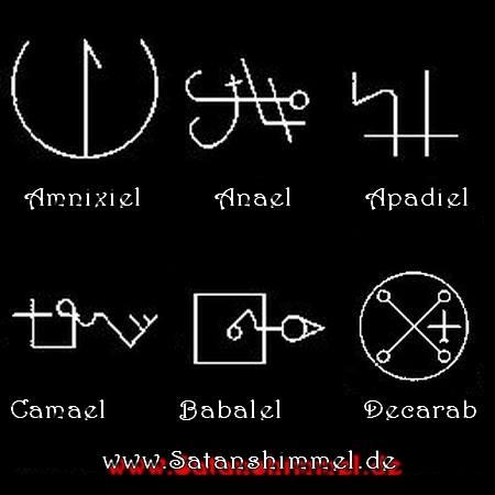 alte Siegel für Geister und Dämonen